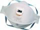Respirátor 3M 9322+ P2V NR D Aura Comfort Plus skládaný 3 panelový výdechový ventil bílý