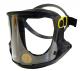 Kukla dýchací Multimask Pro Klick Foam ventilovaný štít k Proflow a e-Flow pěnové těsnění bez hadice černá