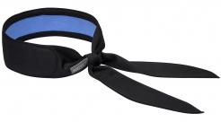 Šátek PW COOLING polyesterová síťovina s PVA výplní pro chlazení hlavy, krku nebo zápěstí černý