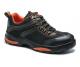 Obuv PW Compositelite Operis S3 HRO sportovní polobotka PU/pryž oranžové doplňky šedo/černá