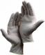 Rukavice Healthline GN03 vyšetřovací jednorázové pudrované latexové 100 ks