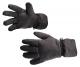 Rukavice PW SKI zimní zateplené nylon/microfleece výplň PES voděodolné černé