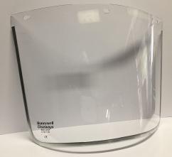 Zorník CLEARWAYS náhradní polykarbonátový k držáku CLEARWAYS na hlavu čirý