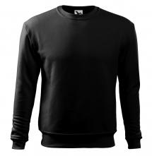 Mikina Essential 300 pánská BA/PES elastický úplet manžety průkrčník spodní lem černá