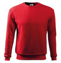Mikina Essential 300 pánská BA/PES elastický úplet manžety průkrčník spodní lem červená