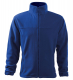 Mikina Jacket 280 pánská fleece antipeeling stojáček kapsy na zip královská modrá