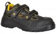 Obuv Compositelite Tagus ESD S1P SRC sandál nubukový svršek suché zipy větrání černo/žlutá
