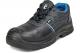 Pracovní polobotka CERVA RAVEN XT O1 SRC kožená měkký límec PU/PU ochrana špice černo/modrá