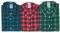 Barevné varianty flanelové košile Tom - Stránka se otevře v novém okně