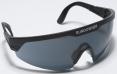 Brýle PROTECTOR SUNDOWNER černý rám nastavitelné straničky protisluneční tónovaný zorník šedý