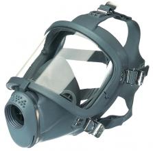 Celoobličejová maska SCOTT SARI lícnice přírodní kaučuk šedá
