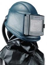 Ochranná dýchací kukla pro tryskače HONEYWELL COMMANDER II ZGH laminátová s gumovým potahem a bisonylovou vestou