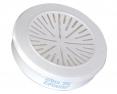 Filtr Honeywell P3 pro řadu dýchacích masek a polomasek 5500 a 7700 proti prachu a částicím se závitem bílý