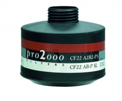 "Filtr SCOTT PRO2000 CF 22 A2B2P3 R D se závitem 40 mm x 1,7"""