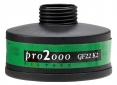 """Filtr K2 se závitem 40mm x 1,7"""" proti čpavku pro masky a dýchací přístroje"""