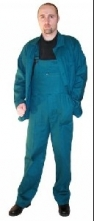 Montérkové kalhoty STANDARD s laclem tmavě zelené