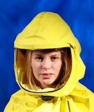 Kukla dýchací SCOTT TORNADO 25 pro jednotku TORNADO a T-A-LINEintegrovaná přilba žlutá