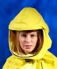 Kukla dýchací SCOTT TORNADO 25 AS ochranná přilba chemicky odolný potah černá