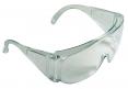 Brýle CERVA BASIC celoplastové ochranné zesílené bočnice vhodné pro návštěvníky čiré
