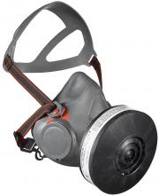 """Polomaska AVIVA 40 nealergická lícnice sedlo na brýle bez filtru závit 1,7""""x40mm šedá"""