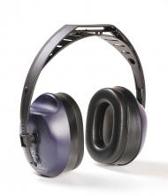 Mušlové chrániče sluchu Hellberg EH 12 upevnění přes temeno modro/černé