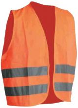 Vesta výstražná CERVA LYNX 2 reflexní pruhy oranžová