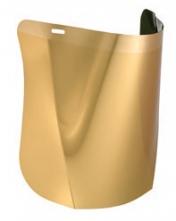 Zorník Hellberg EPOK SAFE3 400x250mm polykarbonát zelený/pozlacený proti tepelné radiaci stupeň 4
