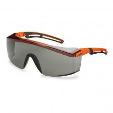 Brýle UVEX ASTROSPEC 2.0 Excellence protisluneční zorník odolný proti poškrábání oranžovo/černý rámeček šedé