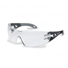 Brýle UVEX X-TREND černé straničky nepoškrábatelné nemlživé čiré