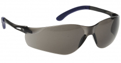 Brýle PW Pan View dvojzorníkový sportovní celoplastový design šnůrka tónované šedé