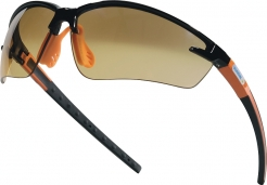 Brýle FUJI GRADIENT šedé/hnědé nemlživé nárazuvzdorné tónované