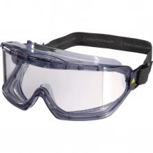 Brýle DELTA PLUS GALERAS panoramatický polykarbonátový zorník nemlživé ventilační otvory textilní guma čiré