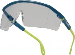 Brýle KILIMANDJARO neškrábatelné nárazuvzdorné žluto/modrý rámeček čiré