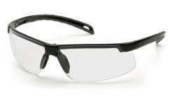 Brýle Pyramex EVER-LITE černý nylonový rámeček 2 zorníková konstrukce čiré