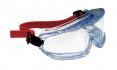 Brýle HONEYWELL V-MAXX uzavřené neventilované nemlživé měkká těsnící linie upínání pomocí textilní gumy čiré