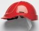 Ochranná přilba PROTECTOR STYLE 600 ABS ventilovaná červená
