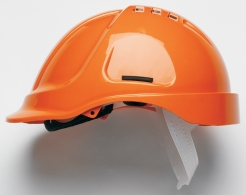 Přilba PROTECTOR STYLE 600 ABS ventilovaná oranžová