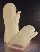 Rukavice palcové GH SAHARA oboustranné tepluodolné do 600°C dlouhé 440 mm žluté