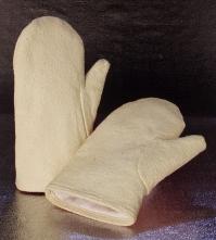 Rukavice palcové oboustranné tepluodolné do 600°C krátké