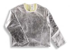 Ochranná slévačská vesta KF3/Z  s rukávy pokovená tepluodolná zkrácená záda délka 600 mm