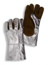 Rukavice prstové tepluodolné do 250°C krátké