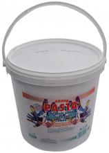 Mycí pasta RUTO na silně znečištěné ruce plastový kyblík 4,5 kg světle modrá