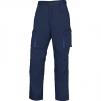 Montérkové kalhoty MACH 2 do pasu tmavě modrá/světle modrá velikost XL