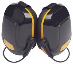 Mušlové chrániče PROTECTOR ZONE 1 týlní SNR28 černo/žluté