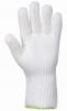 Rukavice Lenzing FR prstová pletená tepluodolná 250°C pružná manžeta 270 mm bílá