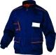 Montérková blůza DELTA MACH 6 Panostyle stojáček zapínání na zip modro/červená