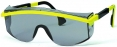 Brýle UVEX ASTROSPEC žluto/černý rámeček zorník odolný proti poškrábání protisluneční šedý