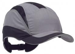 Čepice se skořepinou PROTECTOR FB3 ELITE zkrácený kšilt šedo/černá