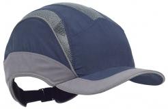 Čepice se skořepinou PROTECTOR FB3 ELITE zkrácený kšilt tmavě modrá/šedá