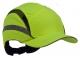 Čepice se skořepinou PROTECTOR FB3 CLASSIC HV zkrácený kšilt protažená do týla výstražně žlutá